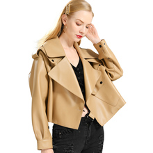 Coat Jacket Real-Sheepshin Women New-Fashion