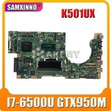 K501UX motherboard 8G RAM I7-6500U GTX950M For ASUS K501UX K501UB K501U K501