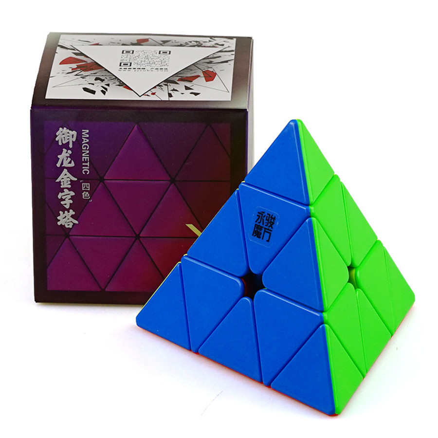 Yongjun Yulong V2M Pyramid Magic Cube 3x3 Magnetic Pyramid Cube V2 M