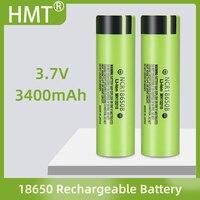 100% nuova batteria ricaricabile al litio originale NCR 18650B 3.7 V 3400 Mah 18650 per batterie torcia (senza PCB)