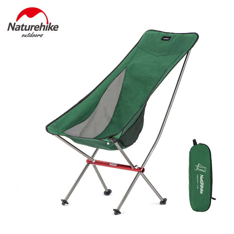 portatile pesca pieghevole in lega di alluminio Sedia da pesca pieghevole di qualit/à per picnic con borsa ultra leggera