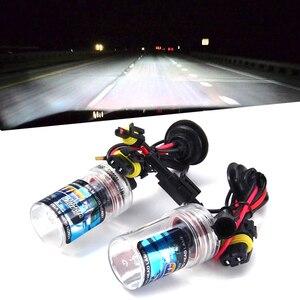 Image 1 - Ampoule au xénon HID, h7 h11 h1 h3 h8 h9 hb3 hb4 9005 9006, pour phare de voiture, phare anti brouillard automatique, violet, rose, vert, 35W 6000K, 8000K, 12V