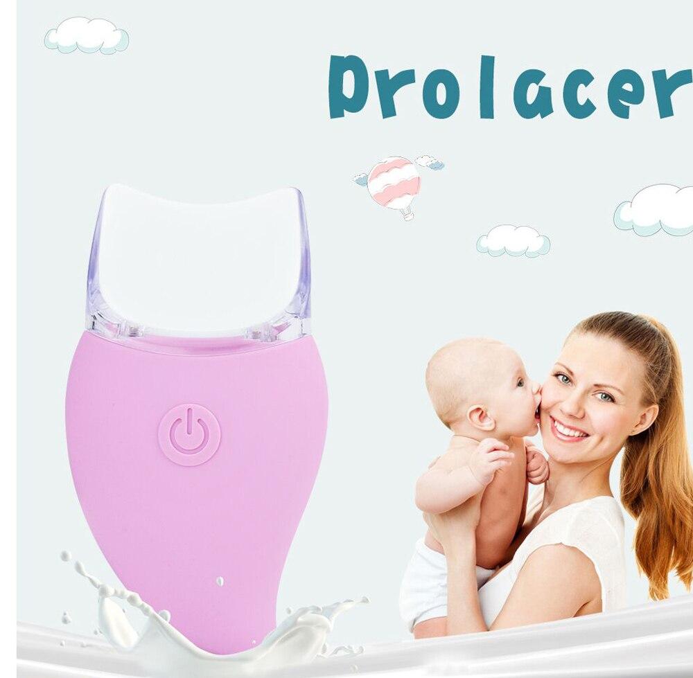 Pompe à lait manuelle masseur de Lactation à traire conception ergonomique du débit de lait