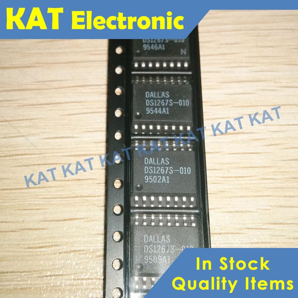 5PCS/Lot DS1267S-010 DS1267 SOP-16 Dual Digital Potentiometer Chip