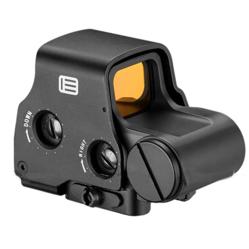 Red Dot 553 Hologram Senjata Pandangan Taktis Red Dot Sight Lingkup Berburu Outdoor Senapan Airsoft Gun Collimator Mendesah Riflescope