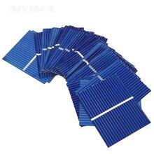 SUNYIMA 100 шт 0,5 В 0,17 Вт солнечная панель Sunpower солнечная батарея фотоэлектрическая панель s поликристаллическая DIY Солнечная батарея зарядное устройство 39x26 мм