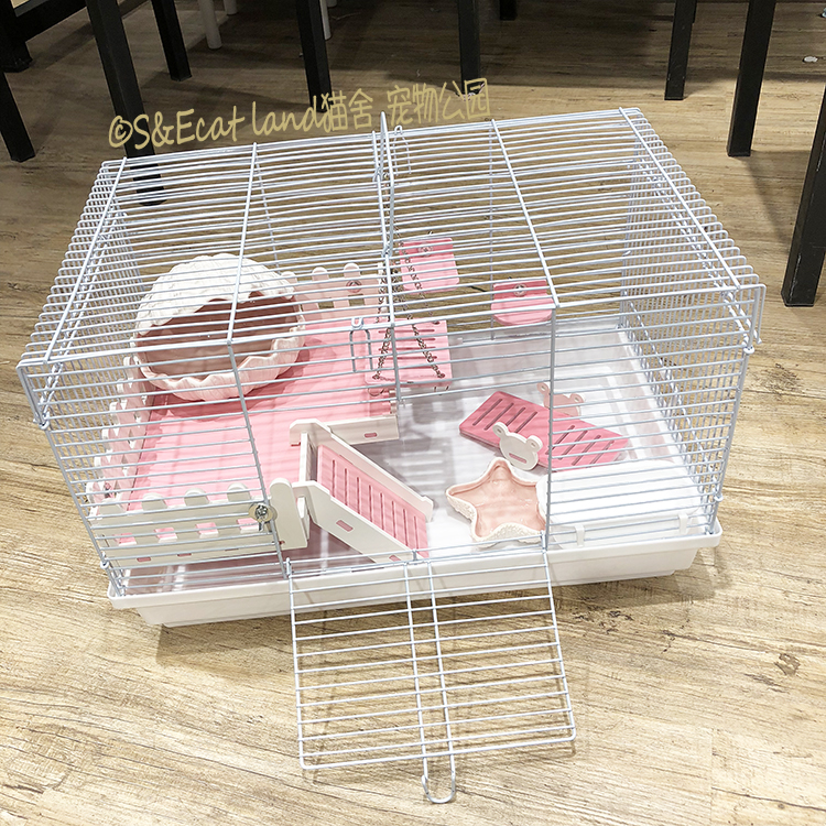 Hamster Cage Oversized Villa Squid Jinsong 47 Base  Blinds Isolation 60 Extra Large Deep Bottom Supplies