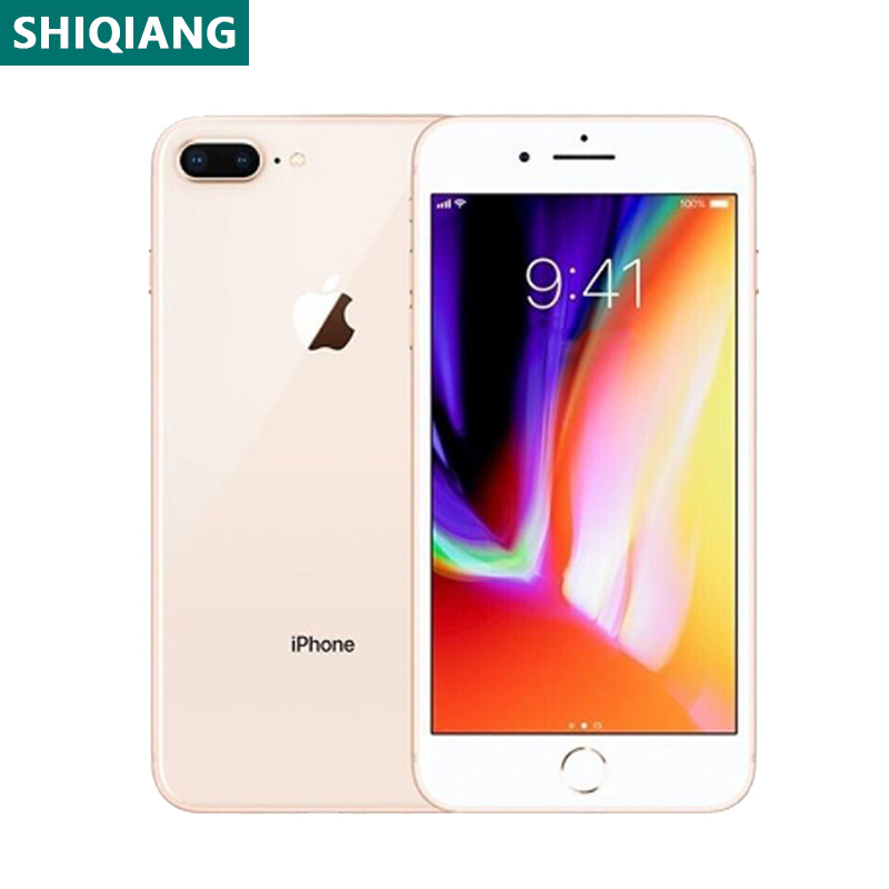 Used Unlocked Original iPhone 8 Plus Cell Phones 5.5inch Fingerprint Smartphones 3+64/256GB 7+12MP 1SIM Card Mobile Phone