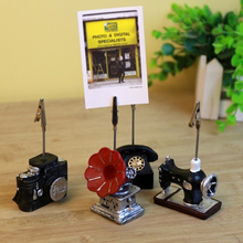 Message-Folder Desktop-Accessories Wooden And 1PC Notes Photo-Display Wholesale Stylish