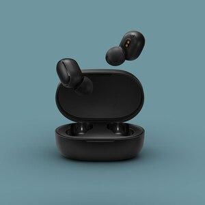 Image 3 - Original xiaomi redmi airdots s tws fones de ouvido sem fio xiaomi controle voz bluetooth 5.0 redução ruído da torneira controle ai