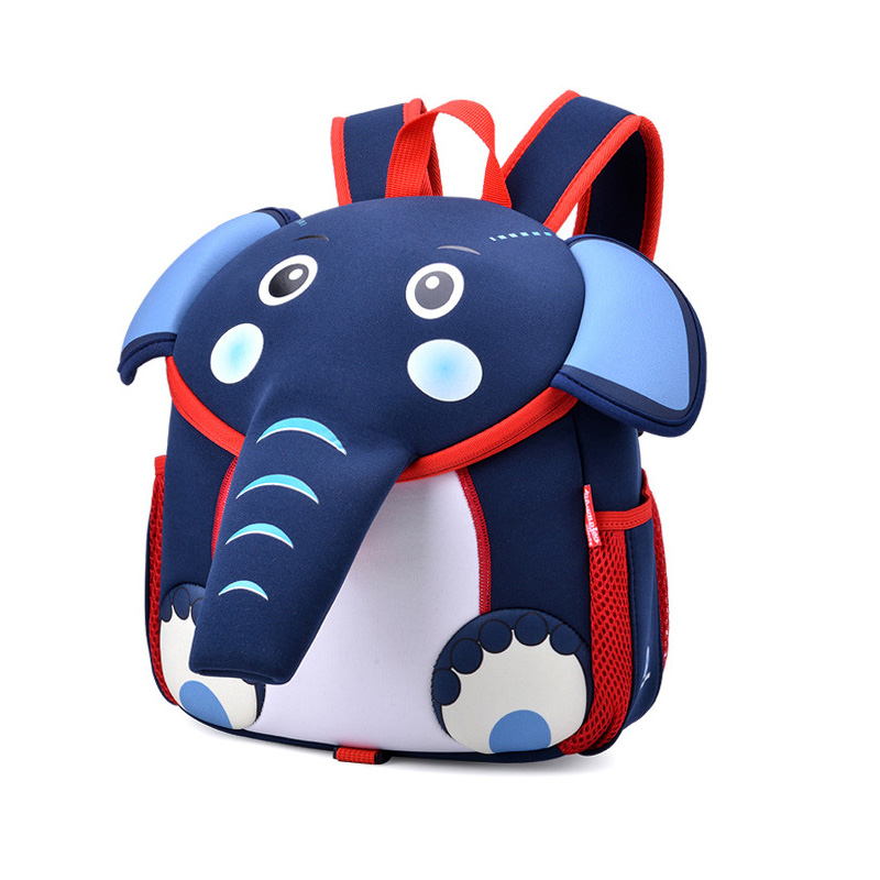 Baby Harness Backpack Toddles Anti-lost Bag Infant Animal ELEPHANT Design Preschool Satchel Kindergarten Kids Bags