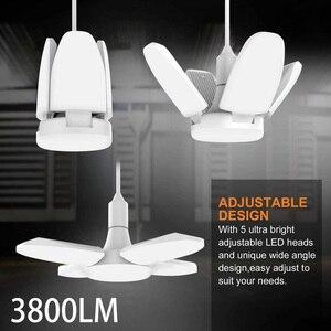 2020 New Chandelier Super Bright Industrial Lighting 38W Led Light Garage Light 3800LM 85-265V Led Industrial Lamp Indoor Light