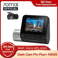 70mai Dash Cam Pro Plus A500S 1944P Snelheid En Gps Cam Auto Dvr A500S Nachtzicht Gratis Wifi Front & Achter Cam 70mai Pro Plus A500S