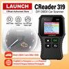 Launch X431 Creader 319 OBD2 Scanner obd 2 Car Diagnostic Tool CR319 Auto ODB Code Reader Car Scan Tools PK ELM327 OM123 AD310