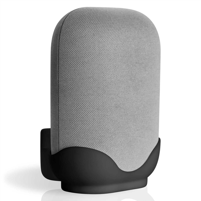 Wall Mount / Bracket for Google Nest Audio Speaker - Built in Cord Management Stable Stand Smart Speaker Holder Accessories 1