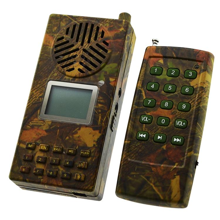 Громкий динамик PDDHKK для охоты, птицы, телефонная связь, Mp3 плеер, поддержка двух внешних динамиков, цифровой выбор, птицы, песни, два цвета