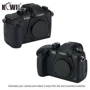Image 2 - Kiwi Chống Trầy Xước Bao Da Máy Ảnh Da Bảo Vệ Cho Máy Ảnh Panasonic Lumix DC GH5 GH5 Camera Chống Trượt 3M miếng Dán Vân Carbon Phim
