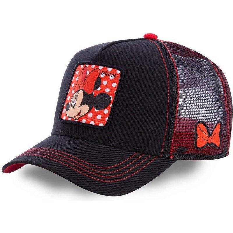 capslab-minnie-mouse-min1-disney-black-trucker-hat