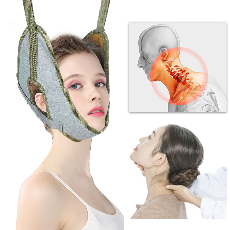cervical traction Over Door neck stretcher Vertebrae Recovery Neck Stretch Stretch Chair Thickening orthosis traction frame