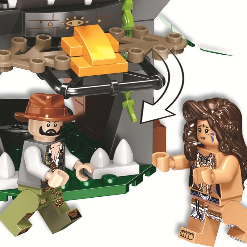 Briques de dinosaures du monde jurassique compatibles Legoing Jurassic World 75929 blocs de construction modèles garçons cadeaux jouets pour enfants - 3