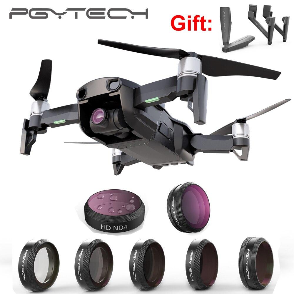 PGYTECH DJI Mavic air drone camera filters lens filter UV CPL ND filters kit for dji mavic air DJI accessories PGY Polar filter