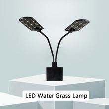 Led-Lighting Clip-On-Lamp Aquarium 15w Led Grow Waterproof 220V White-Color