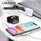 USAMS 3 in 1 Qi Wire...