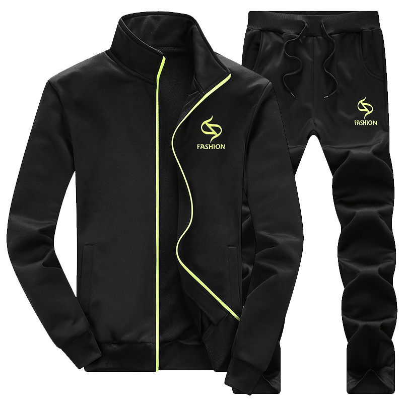 Neue 2019 Marke Trainingsanzug männer baumwolle Männer Sportswear Sets Fleece Dicken hoodie + Hosen Sporting Anzug baumwolle hombre 88788