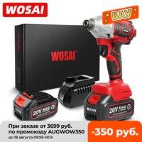 WOSAI-destornillador eléctrico inalámbrico serie MT, taladro sin escobillas de 300Nm, 20V, controlador de impacto, batería de iones de litio, herramienta eléctrica