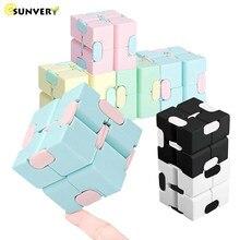 2021 infinity cube magic fidget brinquedos anti-stress cubo infinito mão flip crianças antistress dedo jogo novo trending brinquedo de mesa presente