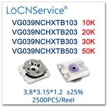LoCNService 3*3 3.8*3.15*1.2 25% VG039NCHXTB103 10K VG039NCHXTB203 20K VG039NCHXTB303 30K VG039NCHXTB503 50K SMD באיכות גבוהה
