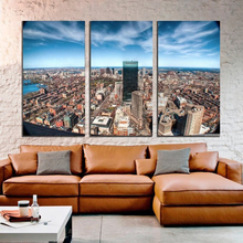 Modern Colorful Photo Picture Fisheye City Photography Room Decor Cities Canvas Art Painting Living Bedroom