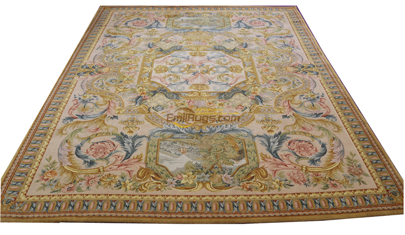 Savonnerie Rug Chinese Wool Carpets