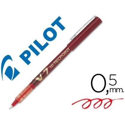 MARKER PILOT TIP NEEDLE V-7 RED 07 MM 12 Units