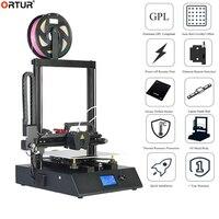 Alta precisão ortur4 v1 v2 guia linear trilho impressora 3d barato máquina de impressão 3d na china e euro armazém 10 m pla como presente|Impressoras 3D| |  -