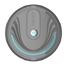 Robot Vacuum Cleaner- Rechargeable Automatic Smart Mini Sweeping Cleaning Robot Sweeper Machine for Pet Hair, Carpets, and Home