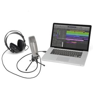 Image 4 - מקורי שמשון C01u פרו משלוח רוח ספוג) Usb הקבל מיקרופון עבור סטודיו הקלטת מוסיקה Youtube קטעי וידאו
