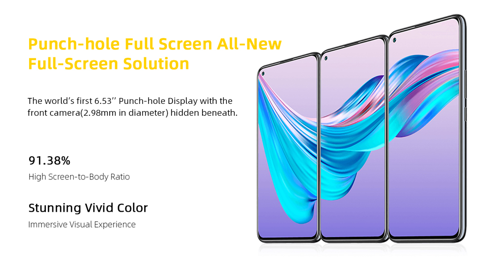ELEPHONE U3H Helio P70 Octa Core Smartphone Better Than Xiaomi Mi 10 Redmi Note 7 Note 8 6.53 FHD+ 128GB  256GB 24MP Selfie 48MP Dual Camera NFC Android 10 Mobile Phone (6)
