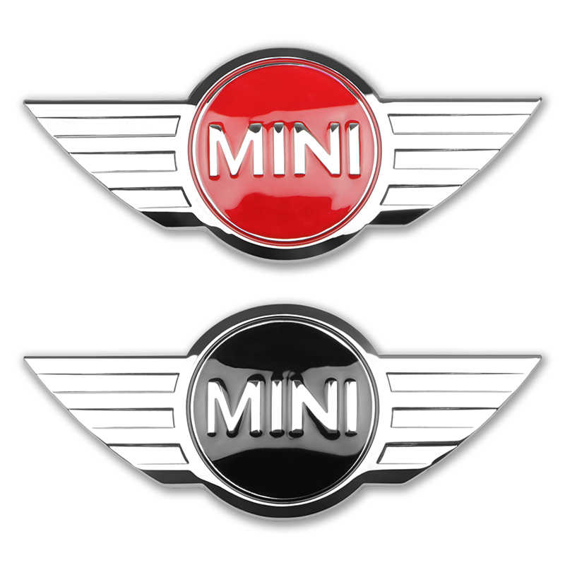Auto Styling 3D Metalen Badge Achter Emblem Staart Sticker Voor Bmw Mini Cooper One S R50 R53 R56 R60 F55 f56 R57 R58 R59 R60 Accessorie