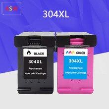 304XL nova versão Cartucho de tinta para hp 304 hp 304 xl deskjet envy 2620 2630 2632 5030 5020 5032 3720 3730 5010 printer
