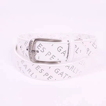 Golf-Belt Women Black New Man White-Color Short Can-Be-Cut And Casual