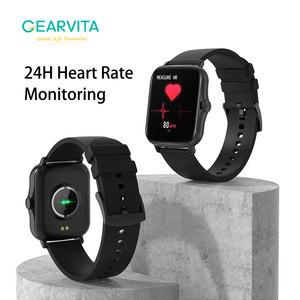 Image 2 - Gearvita Y20 Smart Watch Men P8 Plus 1.7 inch Rotate Button Waterproof Heartrate Fitness Tracker Smartwatch  Women PK GTS 2 P8
