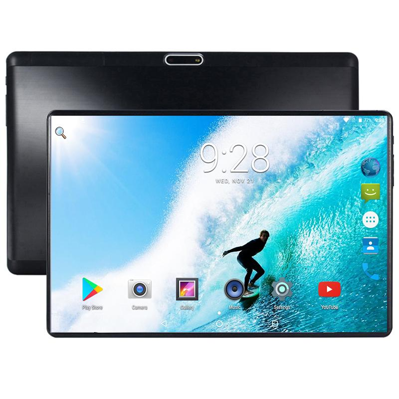 2020 Ten Core 10 Inch Tablet PC 4G LTE FDD 6GB RAM 128 ROM 10 Cores Android 8.0 OS 1280*800 2.5D Glass Screen 10.1 For Christmas