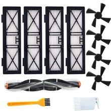 Replacement Parts Kit - 1 Main Brush 4 Side Brushes 4 High Efficiency Filters for Neato Botvac D Series - Vacuum Cleaner Brush F все цены