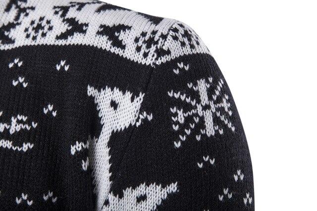 Фото мужская осенне зимняя одежда новый рождественский стиль базовый цена