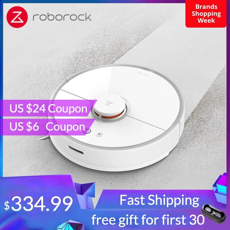 Roborock S50 S55 Xiaomi Robot aspirateur 2 pour la maison mi Smart tapis nettoyage poussière balayage nettoyage humide Robot planifié propre