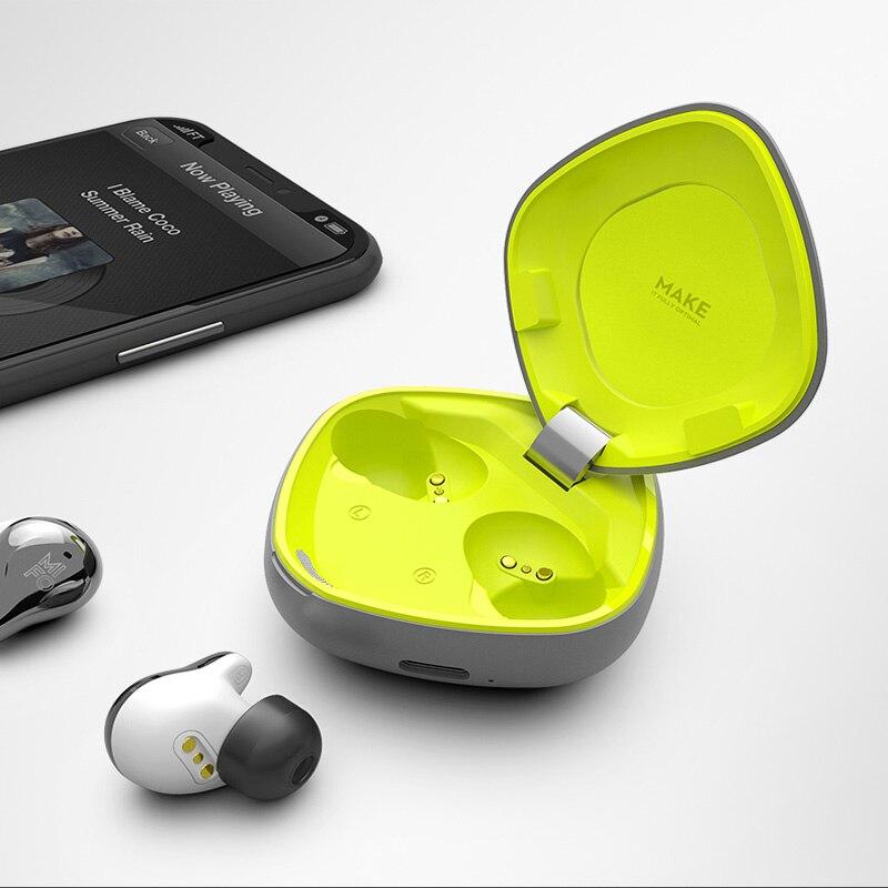 Mifo TWS 5.0 True Wireless écouteurs Bluetooth écouteurs contrôle tactile Sport écouteur stéréo basse sans fil charge O4