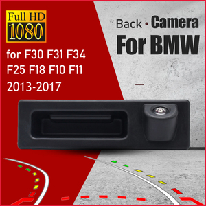 Car Rear View Reverse Backup Trunk Handle Camera For BMW 3 Series 5 X3 Series F10 F11 F25 F30