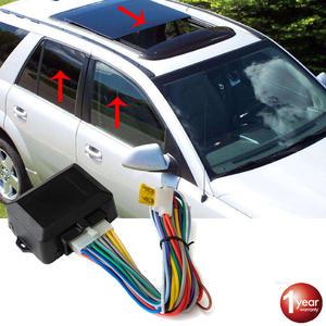 Hippcron Car Power Window Closer For 4 Doors Auto Intelligent Close Windows Remotely Module Alarm System