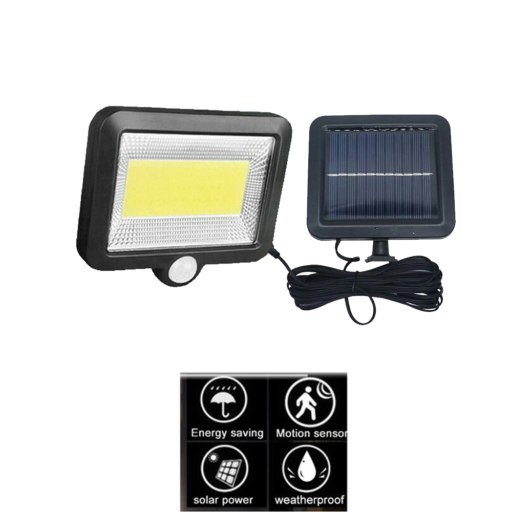 Upgraded 56/30 Leds Solar Light Color Adjustable With Controller Three Modes Waterproof Lamp Lights For Outdoor Garden Wall Stre